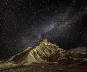 Picture of Bardenas night
