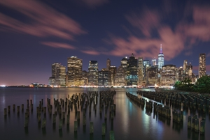 Picture of New York City at Night