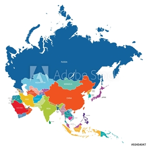 Picture of Asia Map