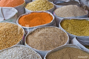 Picture of Spices for sale, Addis Ababa, Ethiopia, Africa